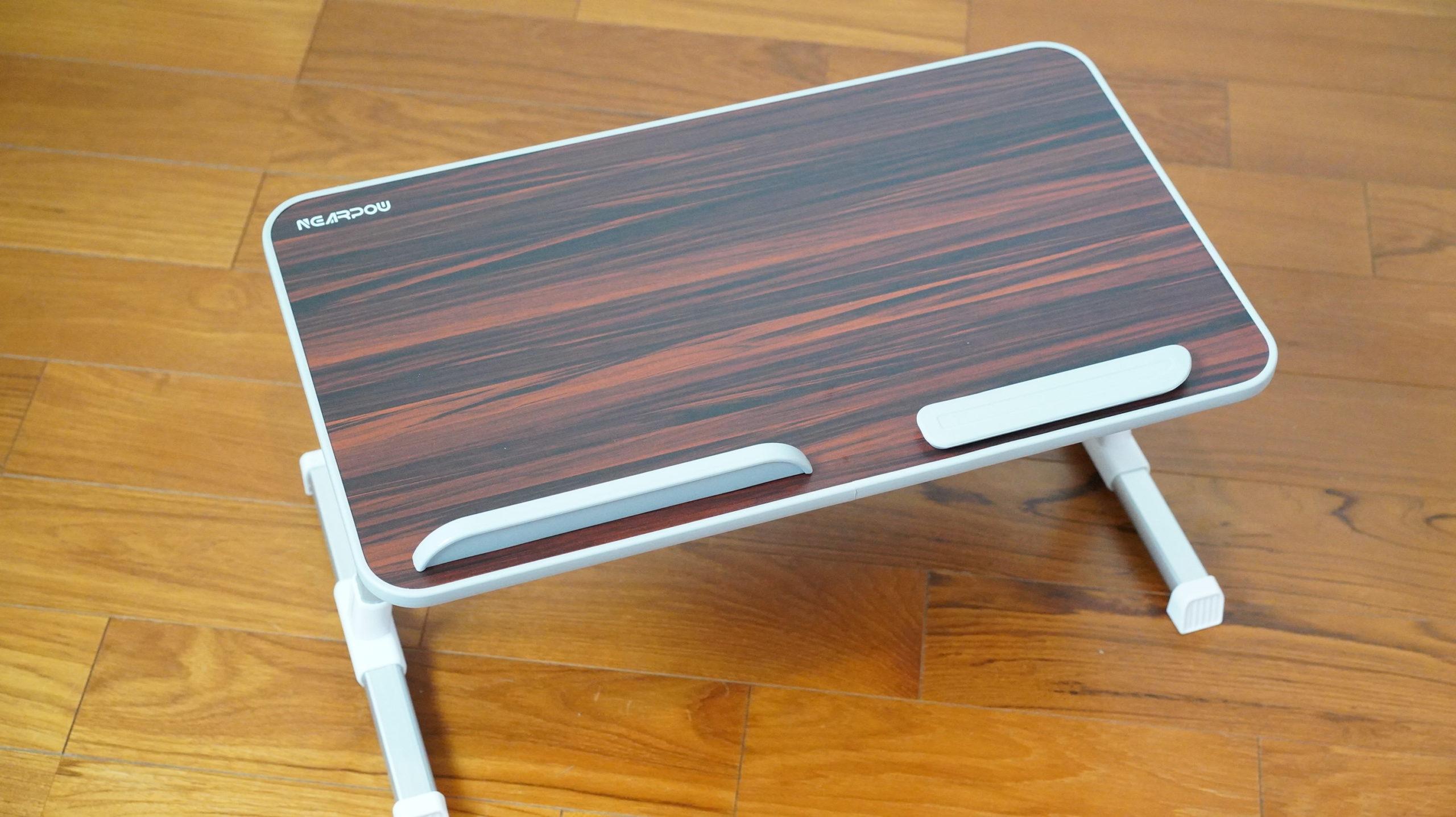 ソファやベッドでパソコン(ノートPC)の作業を姿勢良く行い、膝での作業をなくす最適なテーブル・スタンド10