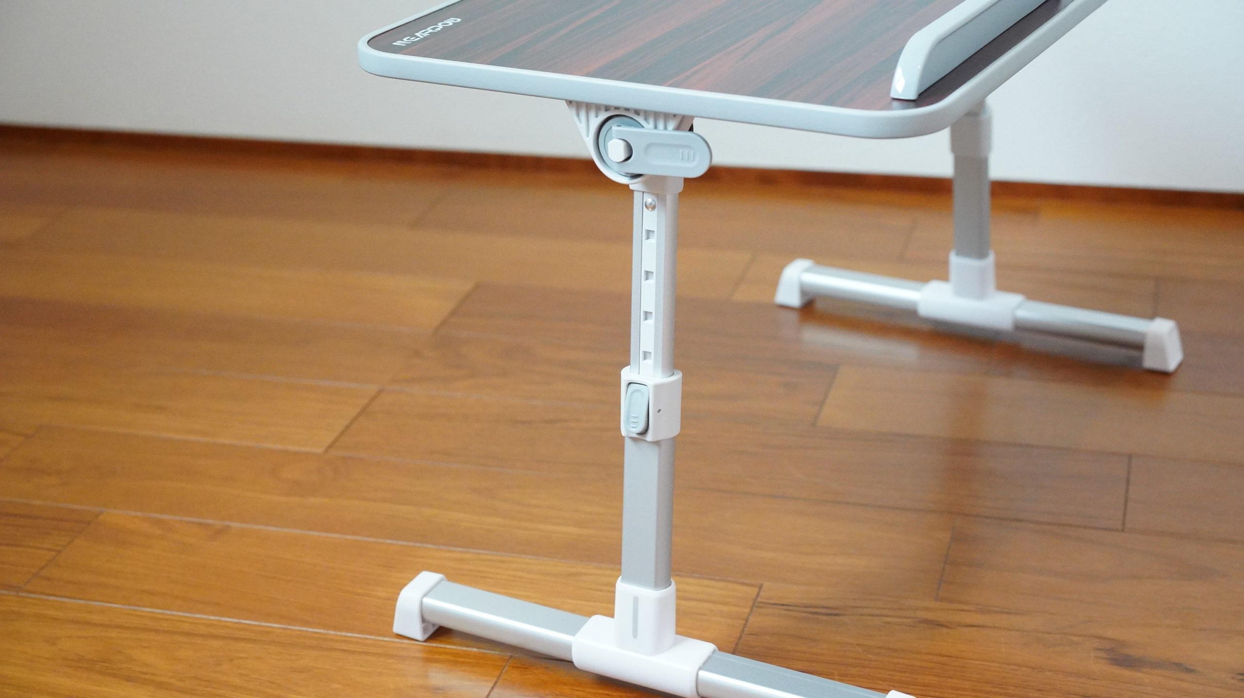 ソファやベッドでパソコン(ノートPC)の作業を姿勢良く行い、膝での作業をなくす最適なテーブル・スタンド12