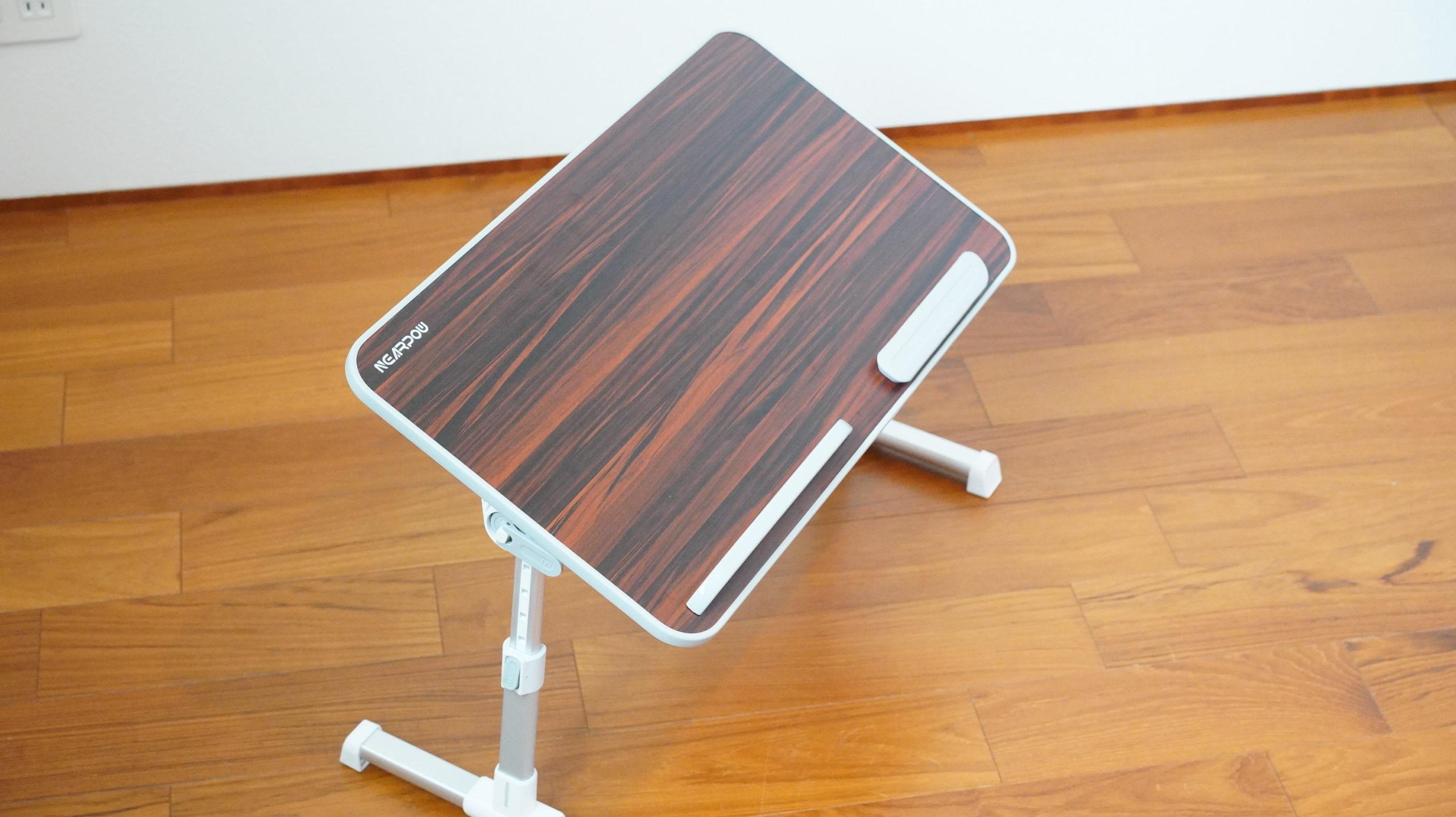 ソファやベッドでパソコン(ノートPC)の作業を姿勢良く行い、膝での作業をなくす最適なテーブル・スタンド17